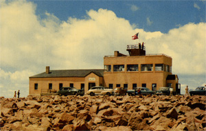 Postcard of the Summit Auto House circa 1952