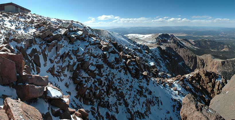The Abyss of Desolation, from the Summit of Pikes Peak