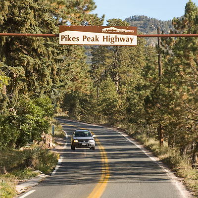 Pikes Peak Highway Entrance Gate
